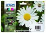 Epson T1816 XL multipack (T1811,1812,1813,1814) tintapatron, 11,5 ml + 3x6,6 ml | eredeti termék