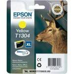 Epson T1304 Y sárga tintapatron /C13T13044010, C13T13044012/, 10,1 ml | eredeti termék