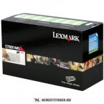 Lexmark C790 M magenta XL toner /C792X1MG/, 20.000 oldal   eredeti termék