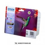 Epson T0807 multipack (T0801,802,803,804,805,806) tintapatron, 6x7,4 ml  eredeti termék