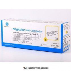 Konica Minolta MagiColor 2400 Y sárga toner /A00W131, 171-0589-001/, 1.500 oldal  | eredeti termék