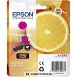 Epson T3363 XL M magenta tintapatron /C13T33634010, C13T33634012, 33XL/, 8,9 ml   eredeti termék