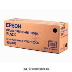 Epson AcuLaser C2000 Bk fekete toner /C13S050033/, 6.000 oldal | eredeti termék
