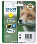 Epson T1284 Y sárga tintapatron /C13T12844011, C13T12844012/, 3,5 ml | eredeti termék