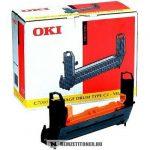 OKI C7200, C7400 Y sárga dobegység /41304109, TYPE C2/, 30.000 oldal | eredeti termék