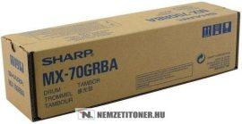 Sharp MX-70 GRBA Bk fekete dobegység, 300.000 oldal   eredeti termék