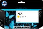 HP F9J96A Y sárga  #No.745 tintapatron, 130 ml | eredeti termék