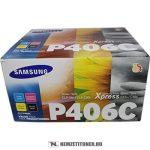 Samsung CLP-360, 365 toner multipack BKCMY /CLT-P406C/ELS/, 1x1.500 oldal+3x1.000 oldal | eredeti termék