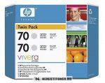 HP CB342A LGY világos szürke #No.70 -2db tintapatron, 130 ml | eredeti termék