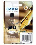 Epson T1621 Bk fekete tintapatron /C13T16214012, C13T16214010/, 5,7 ml | eredeti termék
