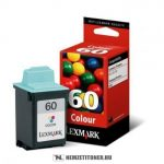 Lexmark 17G0060E színes #No.60 tintapatron, 21 ml | eredeti termék