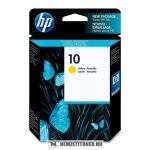 HP C4842AE Y sárga #No.10 tintapatron, 29 ml | eredeti termék