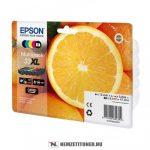 Epson T3357 Bk,C,M,Y,PBk XL multipack tintapatron /C13T33574010, 33XL/, 12,2 ml+3x8,9 ml+8,1 ml   eredeti termék