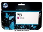 HP B3P20A M magenta #No.727 tintapatron, 130 ml | eredeti termék