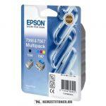 Epson T066140BA multipack (T066+T067) tintapatron, 10 ml + 25 ml | eredeti termék