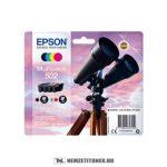 Epson T02V6 BK,C,M,Y multipack tintapatron /C13T02V64010, 502/, 4,6 ml+3x3,3 ml | eredeti termék