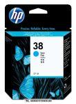 HP C9415A C ciánkék #No.38 tintapatron, 27 ml | eredeti termék
