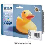 Epson T055640A0 multipack (T0551,552,553,554) tintapatron, 4x8 ml   eredeti termék