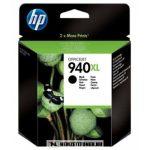 HP C4906AE Bk fekete #No.940XL tintapatron, 49 ml | eredeti termék