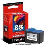Lexmark 18L0000E színes #No.88 tintapatron, 21 ml   eredeti termék