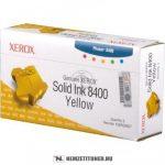 Xerox Phaser 8400 Y sárga toner /108R00607/ 3db, 3.400 oldal   eredeti termék