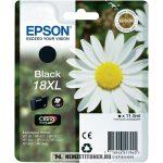 Epson T1811 XL Bk fekete tintapatron /C13T18114010, C13T18114012/, 11,5 ml | eredeti termék