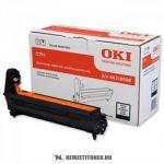 OKI C711 Bk fekete dobegység /44318508/, 20.000 oldal   eredeti termék