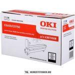 OKI C5650, C5750 Bk fekete dobegység /43870008/, 20.000 oldal | eredeti termék