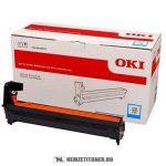 OKI C823, C833, C843 C ciánkék dobegység /46438003/, 30.000 oldal   eredeti termék