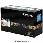 Lexmark C790 C ciánkék XL toner /C792X1CG/, 20.000 oldal   eredeti termék