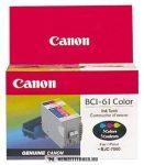 Canon BCI-61 színes tintapatron /0968A008/, 13 ml | eredeti termék