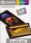 Sagem DSR 400T (papír+toner) /251559434/, 120 oldal | eredeti termék
