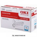 OKI C5650, C5750 C ciánkék dobegység /43870007/, 20.000 oldal | eredeti termék