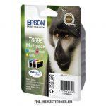 Epson T0895 multipack (T0891,T0892,893,894) tintapatron, 5,8 ml + 3x3,5 ml | eredeti termék