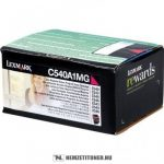 Lexmark C540, C543, C544 M magenta toner /C540A1MG/, 1.000 oldal | eredeti termék