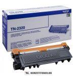 Brother TN-2320 toner, 2.600 oldal | eredeti termék