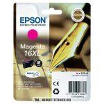 Epson T1633 XL M magenta tintapatron /C13T16334010, C13T16334012/, 6,5 ml | eredeti termék
