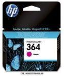 HP CB319EE M magenta #No.364 tintapatron, 3 ml | eredeti termék
