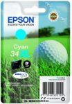 Epson T3472 XL C ciánkék tintapatron /C13T34724010/, 10,8 ml   eredeti termék