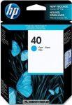 HP 51640CE C ciánkék #No.40 tintapatron, 42 ml | eredeti termék