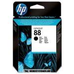 HP C9385AE Bk fekete #No.88 tintapatron, 23 ml | eredeti termék
