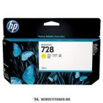 HP F9J65A Y sárga XL  #No.728 tintapatron, 130 ml | eredeti termék