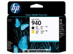 HP C4900A Bk fekete + Y sárga #No.940 nyomtatófej | eredeti termék